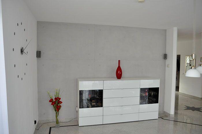 Wand Sichtbetonimitation • betkos | betonkosmetik