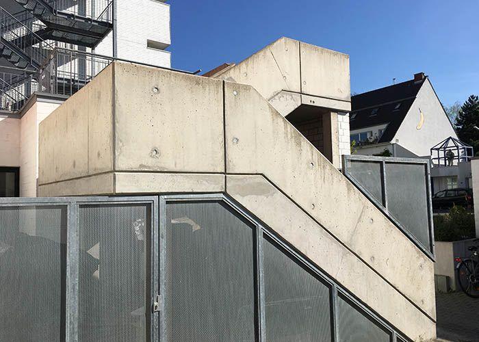 Betonkosmetik Treppe Vorher • betkos