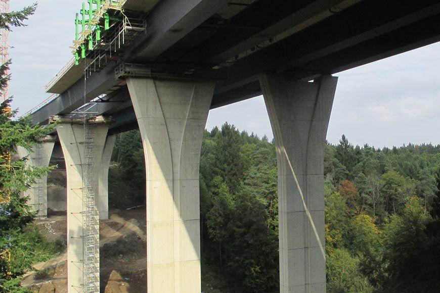 Talbrücke Lützelbach A45, Dillenburg • betkos   Betonkosmetik