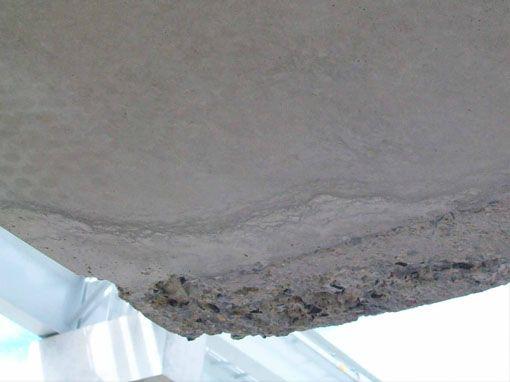 Abgebrochene Ecke Sichtbeton • betkos | betonkosmetik