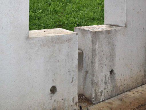 Verschmutzter Sichtbeton • betkos | betonkosmetik