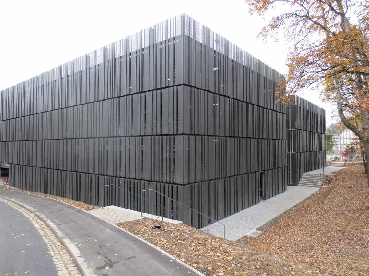 Parkhaus der Hochschule Coburg • betkos | Betonkosmetik