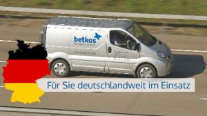 Deutschlandweit im Einatz